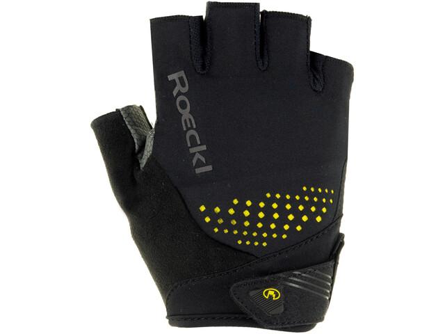 Roeckl Iberia Handschuhe schwarz/gelb